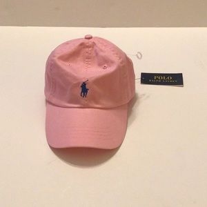 Polo Ralph Lauren Pink Small Pony  Baseball Hat